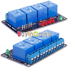 5V DC 4 Output Channels Relay Module W/ LED Pointer Light For Arduino