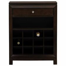 Wood Wine Cabinet Bottle Bar Kitchen Home Decor Display Liquor Holder Storage