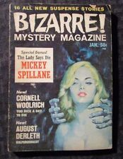 1966 BIZARRE Mystery Magazine v.1 #3 VG- (Back Cover Damage) August Derleth