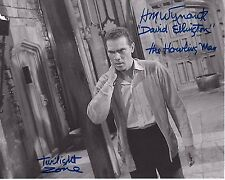 H. M. Wynant Signed 8x10 Photo - The Twilight Zone - VERY RARE AUTOGRAPH!!!  H83