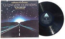 JOHN WILLIAMS: Close Encounters Of The Third Kind LP ARISTA RECORDS AL9500 VG++