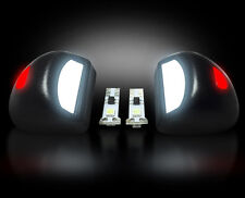 RECON 2007-2013 Chevy/GMC 6k WHITE LED LICENSE PLATE LIGHT FACTORY FIT RED