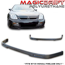 97 98 99 00 01 Honda Prelude Aftermarket SPOON P1 Style Front Bumper PU Lip