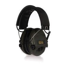 MSA Safety Sordin Supreme Pro X Gehörschutz mit AUX-Eingang, Leder + grüne Cups