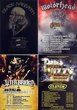 BLACK SABBATH - MOTORHEAD - ALTER BRIDGE - THIN LIZZY FLYERS - BRAND NEW