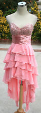 NWT MASQUERADE $120 Blush Formal Evening Party Gown 5