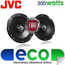 Fiat Punto 1993-2005 JVC 16cm 6.5 Inch 300 Watts 2 Way Front Door Car Speakers