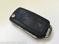 GENUINE SKODA OCTAVIA VRS FABIA ETC 2 BUTTON REMOTE KEY FOB HL0 1J0 959 753 CT