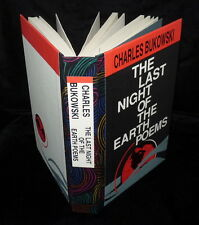 Bukowski - The Last Night of the Earth Poems - Lettered - SIGNED
