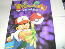 POKEMON ASH KETCHUM Gotta Catch 'em All 16x20 Poster Purple