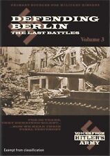 Voices From Hitler's Army, Vol.3: Defending Berlin - Region 2 Compatible DVD NEW