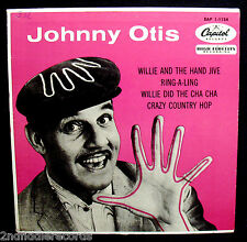 JOHNNY OTIS-Willie And The Hand Jive-Rare EP Picture Sleeve-CAPITOL #EAP 1-1134