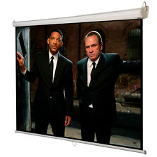 "120"" 4:3  Manual Pull Down Auto-Lock Projector Projection Screen White 96""x72"""