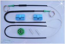 AUDI A3 8L WINDOW REGULATOR REPAIR KIT SET FRONT LEFT