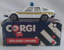 CORGI POLICE ROVER 3500 DIECAST CAR BOXED