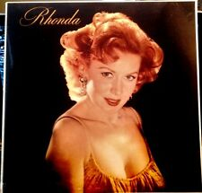 "Sealed ! ! - RHONDA FLEMING LP  - "" Rhonda "" CBS SPECIAL PRODUCTS, 1982 re"