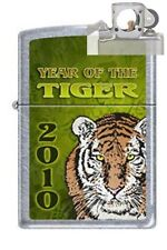 Zippo 1188 year of the tiger chrome Lighter with PIPE INSERT PL