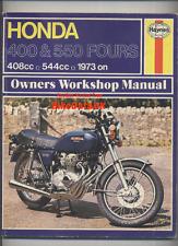 Haynes Honda 400-Four CB550 (1973-1977) Shop Manual CB 400 550 K F Dresda Harris