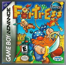 GBA Fortress (2002) Nintendo of America, Brand New & Factory Sealed
