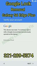 Galaxy S6 Edge Plus G928A/T/F/G Google Account Removal Bypass/Unlock, Reset FRP
