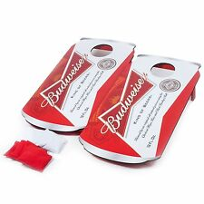 Budweiser Can Bean Bag Toss Cornhole Corn Hole Game Boards