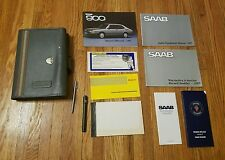OEM 1987 Saab c900 SPG Classic Owners Manual & Supplements w/ Grey Carrying Case