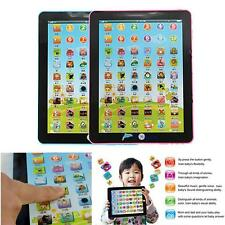 Kid Learning English Tablet Teach Pad Educational Toy Fun Gift For Girl/Boy B TL