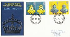 (23500) GB FDC - Queen's Award for Industry - Paper for 1d Black 10 April 1990