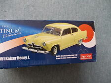 Sun Star 1/18 Platinum Collection - Kaiser Henry J 1951 - orange