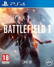 Battlefield 1 (PS4) Pre Order Now! Release Date - 21st October