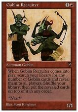 Goblin Reclutatore - Goblin Recruiter MTG MAGIC Anthologies English