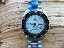 Vintage Citizen NY2300-09B Automatic Divers Submariner Oyster Special Band