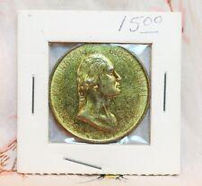 George Washington Encased Bicentennial Crossing Delaware Medal Coin 1732 1932