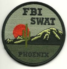 Fbi: arizona-Phoenix SWAT S.W.A.T. subdued Police Patch SEK policía Patch