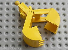 Godet LEGO TRAIN Crane Grab Jaws ref 3492c01 / Set 7838 780 4565 364 7243 6600