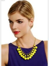 KATE SPADE NEW YORK CUT TO THE CHASE NECKLACE  DANCING STRAND BRIGHT HOT YELLOW