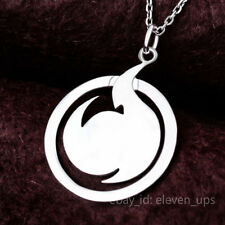 Silver Necklace Cosplay Jigoku Shoujo Hell Girl Pendant Anime New Chain