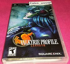 VALKYRIE PROFILES LENNETH SONY PSP TRES BON ETAT VERSION US