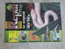 $$ Revue Reptil mag N°13 serpent des bles  tortues aquatiques  terrarium deserti