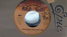 KISS I WAS MADE FOR LOVING YOU / HARD TIMES ON CASEBLANCA RECORDS