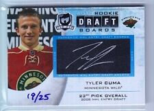 2012-13 The Cup Tyler Cuma NHL Entry Draft Boards Auto Rc (19/25)