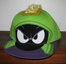 Looney Tunes Marvin the Martian MOWHAWK SNAPBACK FLAT BILL  Officially Licensed