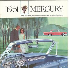 1961 Mercury Meteor  Monterey Colony Park & Commuter Station Wagon Brochure