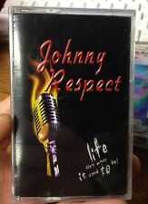 JOHNNY RESPECT Life Ain't What It Used To Be Cassette Sealed Christian Punk