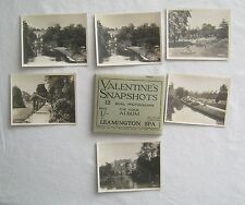 12 Real Photographs For Your Snap Shot Album Leamington Spa England Valentines