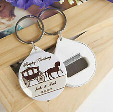50pcs Personalized Bottle Opener Wedding Souvenirs Wedding Gifts For Guests
