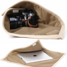 Waterproof DSLR SLR Camera Wrap Velcro Cover Laptop Protector Lens Cover Cloth