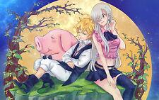Poster A3 Nanatsu No Taizai Meliodas Eliabeth Seven Deadly Sins 02