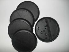 15 (Fifteen) 50mm Lipped / Round Bases for Wargaming and Roleplaying New