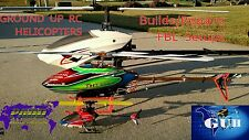 RC HELICOPTER REPAIR SERVICE- EFLITE , BLADE 130x -300CFX-550, T-REX 250 700